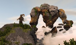 The Lost Shepherd and The Giant Golem Minecraft Project