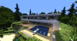 Modern house [WIP] Minecraft Map & Project
