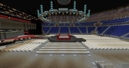 Full Sized Arena (WWE NEW ERA Set-Up) Minecraft Project