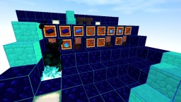 Dark Blue PvP Pack by MythMega Minecraft Texture Pack