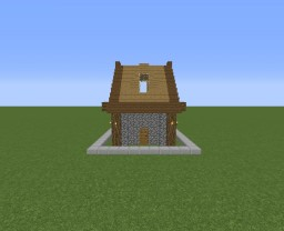 Medium Survival House Minecraft Project