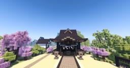 Hakurei Shrine Minecraft Map & Project