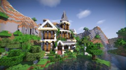 Lush Overgrown Victorian House Minecraft Map & Project