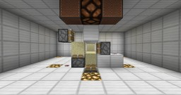 Redstone Piston Sand Puzzle Minecraft Project