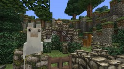Lama Farm Minecraft Map & Project