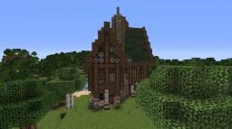 Médiéval/Steampunk hostel Minecraft Map & Project