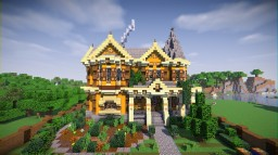 Intricate Victorian House Minecraft Map & Project