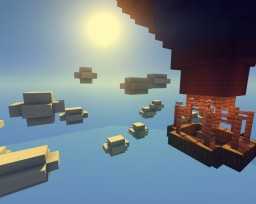 Air Balloon with moving clouds Minecraft Map & Project