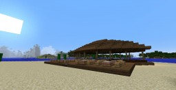 Snack Bar/Beach Disco Minecraft Map & Project