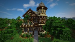 Rustic Victorian House Minecraft