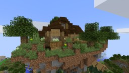 Floating Wooden Shed Minecraft Project