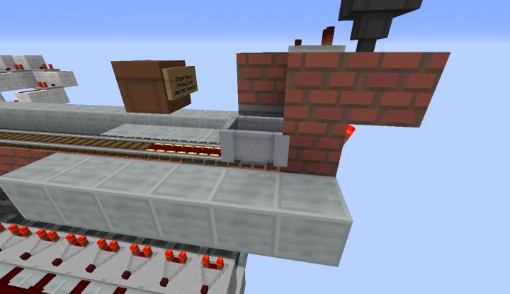 Minecart launcher