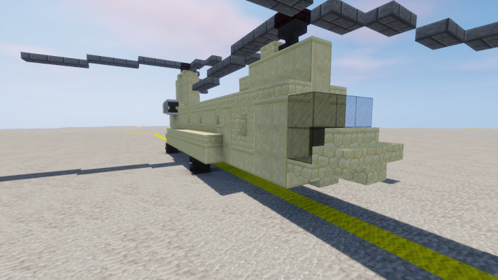 how to build a minecraft chinook