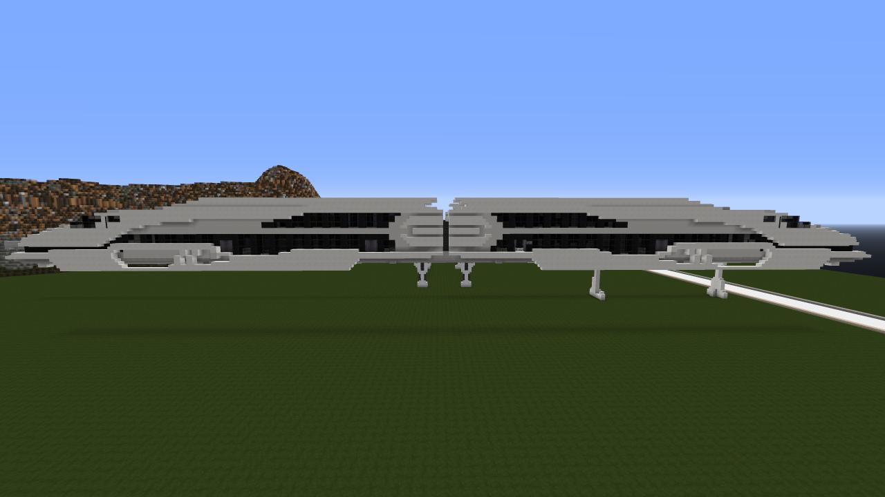 Arrow - maglev train Minecraft Project