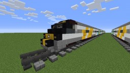 Brightline BrightBlue Trainset Minecraft Map & Project