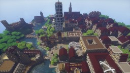 The city by the lagoon Minecraft Map & Project