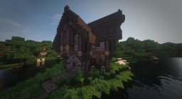 Very Simple Medieval House Minecraft