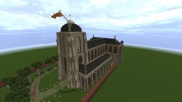 Our Dear Lady / Big Church, Veere  [Conquest Reforged] + download Minecraft Project
