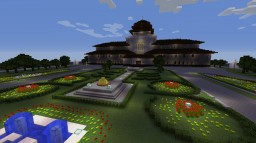 Gedung Sate -The Beauty of the Flower City- Minecraft Map & Project