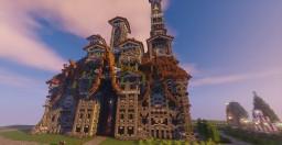 Magic Mown hall Minecraft Project