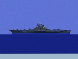 project 1143 Kiev class heavy aircraft cruiser Minecraft Map & Project
