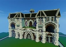Modern Castle Minecraft Map & Project