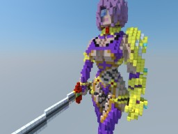 Ivy Valentine - SOUL CALIBUR 4 Minecraft Map & Project