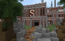 Brick Build and Wood Works [Old] Minecraft Map & Project
