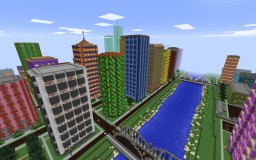 City on the River Minecraft Project