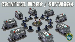 Criminal Wars / SkyWars Map Minecraft Project