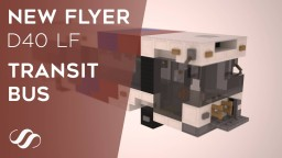 New Flyer D40 LF Transit Bus Minecraft Project