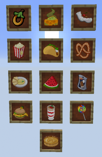 All Puffle Foods