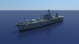 USS Blue Ridge (LCC-19) 1:1 scale Minecraft