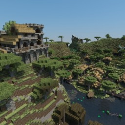 Fishing village Minecraft Map & Project