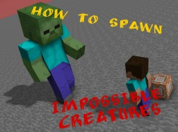 How to spawn impossible creatures [1.12] Minecraft Blog Post