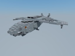 Freight helicopter Minecraft