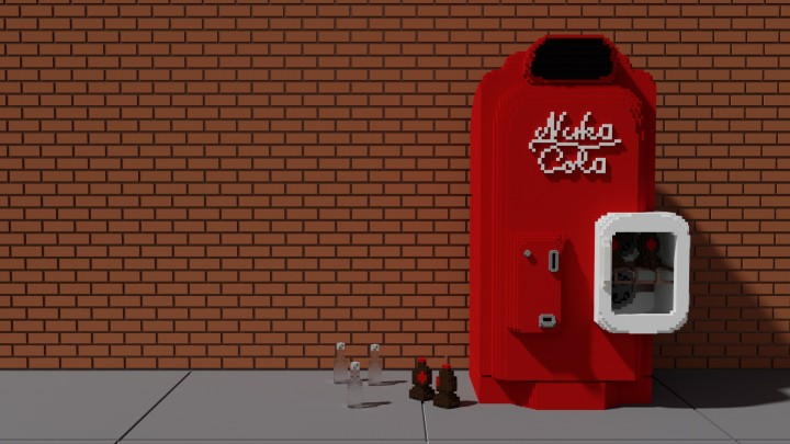 fallout 4 in minecraft nuka cola vending machine minecraft project