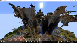 Mountain Village in Savanna M Biome Minecraft Project