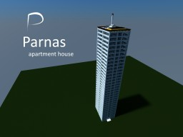 """Apartment house """"Parnas"""" Minecraft Map & Project"""