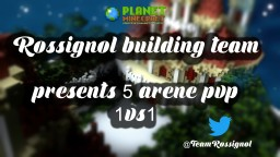 5 Arene PVP 1vs1- By Rossignol Minecraft Map & Project
