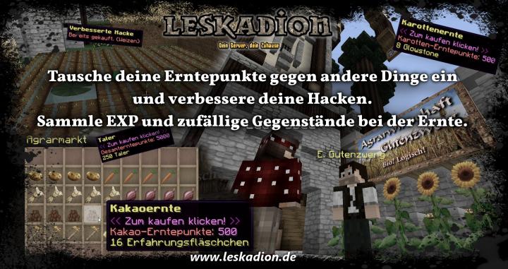 Leskadion Mein Neues Zuhause Minecraft Server - Minecraft offline spieler teleportieren