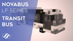 Novabus LF Series Transit Bus Minecraft Map & Project
