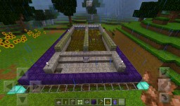 Automatic Wheat Farm Minecraft Map & Project