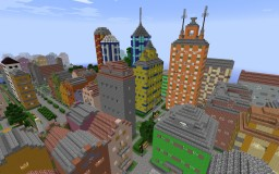 Seaside Town (Osada) Minecraft Map & Project