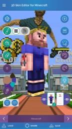 3D Skin Editor APP Minecraft Mod