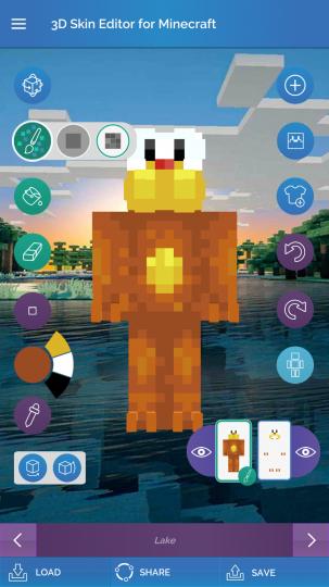 Minecraft advanced skin maker
