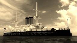 Fictional British Pre-Dreadnoughts - HMS Vivien Grey & HMS Henrietta Temple Minecraft Project