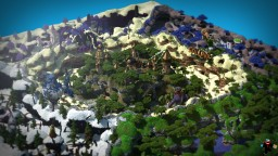 The lost paradise Skillpvp warzone v7 Minecraft Map & Project