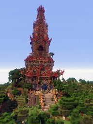 Shinto temple Minecraft Project