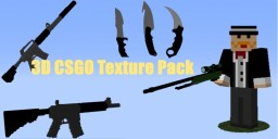 MC CSGO 3D PACK!!! -REUPLOAD- Minecraft Texture Pack